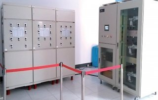 High voltage DC contactor test equipment